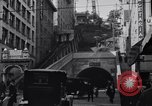 Image of Angels Flight Inclined Railway Los Angeles California USA, 1916, second 8 stock footage video 65675040393