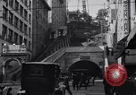 Image of Angels Flight Inclined Railway Los Angeles California USA, 1916, second 9 stock footage video 65675040393