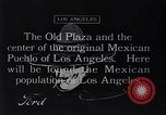 Image of Old Plaza Los Angeles California USA, 1916, second 1 stock footage video 65675040395