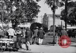Image of Old Plaza Los Angeles California USA, 1916, second 4 stock footage video 65675040395