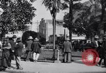 Image of Old Plaza Los Angeles California USA, 1916, second 9 stock footage video 65675040395