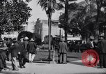 Image of Old Plaza Los Angeles California USA, 1916, second 10 stock footage video 65675040395