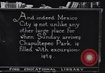 Image of Chapultepec Park Mexico, 1920, second 7 stock footage video 65675040401