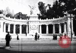 Image of Benito Juarez Monument Mexico City Mexico, 1920, second 3 stock footage video 65675040406
