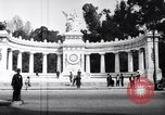 Image of Benito Juarez Monument Mexico City Mexico, 1920, second 4 stock footage video 65675040406