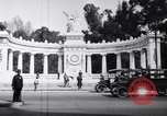 Image of Benito Juarez Monument Mexico City Mexico, 1920, second 5 stock footage video 65675040406