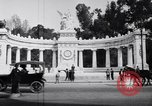 Image of Benito Juarez Monument Mexico City Mexico, 1920, second 8 stock footage video 65675040406