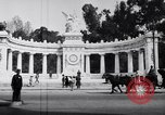 Image of Benito Juarez Monument Mexico City Mexico, 1920, second 9 stock footage video 65675040406