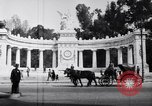 Image of Benito Juarez Monument Mexico City Mexico, 1920, second 10 stock footage video 65675040406