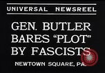 Image of Smedley Butler Newtown Square Pennsylvania USA, 1934, second 8 stock footage video 65675040409