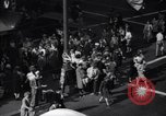 Image of Crowded Los Angeles Street during World War II Los Angeles California USA, 1944, second 10 stock footage video 65675040414