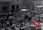 Image of vendors on street Mexico City Mexico, 1938, second 5 stock footage video 65675040421