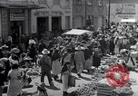 Image of vendors on street Mexico City Mexico, 1938, second 6 stock footage video 65675040421