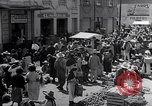 Image of vendors on street Mexico City Mexico, 1938, second 7 stock footage video 65675040421