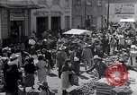 Image of vendors on street Mexico City Mexico, 1938, second 8 stock footage video 65675040421