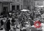 Image of vendors on street Mexico City Mexico, 1938, second 9 stock footage video 65675040421