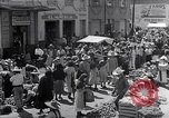 Image of vendors on street Mexico City Mexico, 1938, second 10 stock footage video 65675040421
