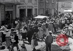 Image of vendors on street Mexico City Mexico, 1938, second 12 stock footage video 65675040421