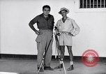 Image of Liberated prisoner Bob Jones from Los Baños Manila Philippines, 1945, second 2 stock footage video 65675040437