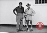 Image of Liberated prisoner Bob Jones from Los Baños Manila Philippines, 1945, second 3 stock footage video 65675040437