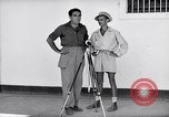 Image of Liberated prisoner Bob Jones from Los Baños Manila Philippines, 1945, second 7 stock footage video 65675040437