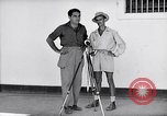 Image of Liberated prisoner Bob Jones from Los Baños Manila Philippines, 1945, second 8 stock footage video 65675040437