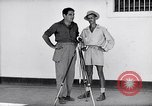 Image of Liberated prisoner Bob Jones from Los Baños Manila Philippines, 1945, second 9 stock footage video 65675040437