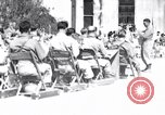 Image of Santo Tomas internees Manila Philippines, 1945, second 1 stock footage video 65675040440