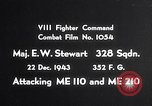 Image of ME-110 and ME-210 Germany, 1943, second 1 stock footage video 65675040451