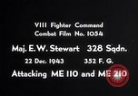 Image of ME-110 and ME-210 Germany, 1943, second 3 stock footage video 65675040451