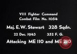 Image of ME-110 and ME-210 Germany, 1943, second 9 stock footage video 65675040451
