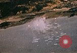 Image of Japanese shore installations Pacific Theater, 1945, second 11 stock footage video 65675040475