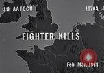 Image of Eighth Air Force gun camera footage Germany, 1944, second 2 stock footage video 65675040503
