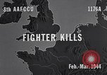 Image of Eighth Air Force gun camera footage Germany, 1944, second 4 stock footage video 65675040503
