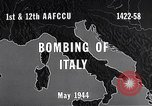 Image of Bombing Italy, 1944, second 3 stock footage video 65675040505