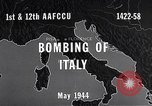 Image of Bombing Italy, 1944, second 7 stock footage video 65675040505