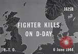 Image of D-Day US Aircraft gun camera footage France, 1944, second 2 stock footage video 65675040507