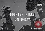 Image of D-Day US Aircraft gun camera footage France, 1944, second 6 stock footage video 65675040507
