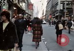 Image of Pedestrians on New York City street 1970 New York City USA, 1970, second 2 stock footage video 65675040525