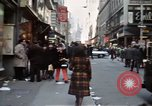Image of Pedestrians on New York City street 1970 New York City USA, 1970, second 4 stock footage video 65675040525