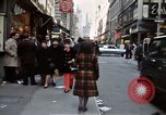 Image of Pedestrians on New York City street 1970 New York City USA, 1970, second 5 stock footage video 65675040525