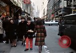 Image of Pedestrians on New York City street 1970 New York City USA, 1970, second 6 stock footage video 65675040525