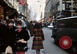 Image of Pedestrians on New York City street 1970 New York City USA, 1970, second 7 stock footage video 65675040525