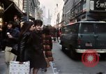 Image of Pedestrians on New York City street 1970 New York City USA, 1970, second 10 stock footage video 65675040525