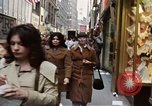 Image of Pedestrians on New York City street 1970 New York City USA, 1970, second 12 stock footage video 65675040525