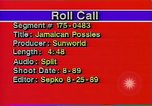 Image of Jamaican Posse United States USA, 1989, second 10 stock footage video 65675040567