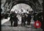Image of Eiffel Tower Paris France, 1900, second 3 stock footage video 65675040582