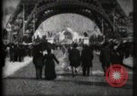 Image of Eiffel Tower Paris France, 1900, second 5 stock footage video 65675040582