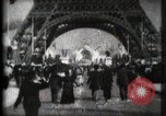 Image of Eiffel Tower Paris France, 1900, second 7 stock footage video 65675040582