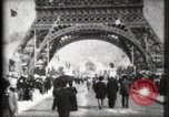 Image of Eiffel Tower Paris France, 1900, second 9 stock footage video 65675040582